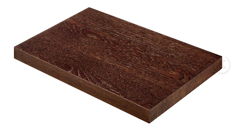 Kleintisch Functional aus Metall und Naturholzfurnier