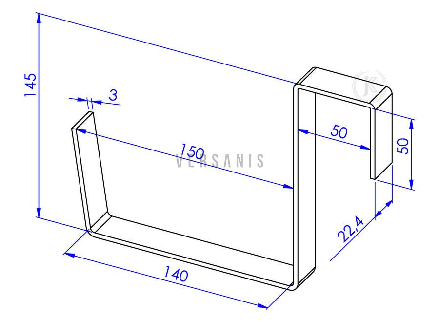 balkonkastenhalterung aus metall online kaufen versanis. Black Bedroom Furniture Sets. Home Design Ideas