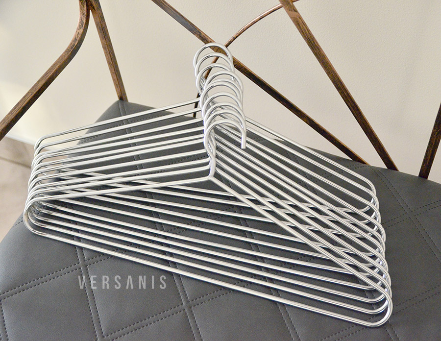 kleiderb gel metall klassisch online kaufen versanis. Black Bedroom Furniture Sets. Home Design Ideas