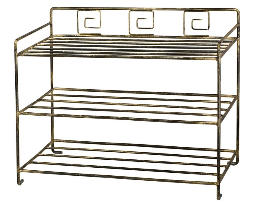 schuhregal aus metall online kaufen versanis. Black Bedroom Furniture Sets. Home Design Ideas