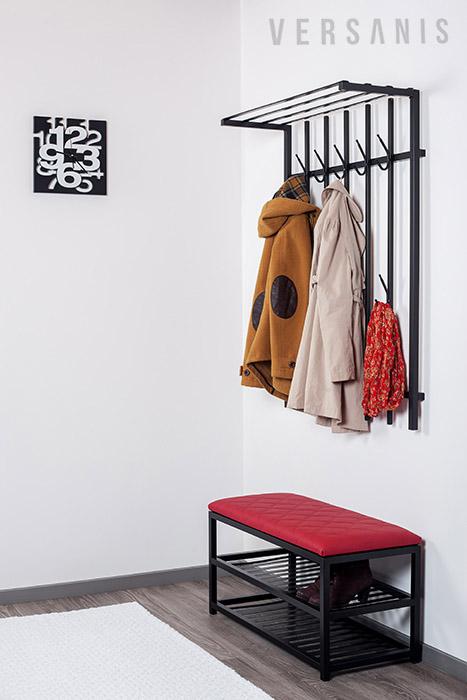 sitzbank modern mit schuhablage online kaufen versanis. Black Bedroom Furniture Sets. Home Design Ideas